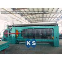 Quality Heavy Duty Gabion Mesh Machine Net Weaving Machine 80x100mm Netting Width 4300mm for sale
