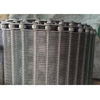 Buy Stainless Steel Flexible Flat Wire Mesh Conveyor Belt For Bread Industry at wholesale prices