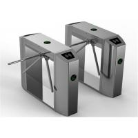 Quality Bus station entry flow control solenoid valve Tripod Turnstile Gate 30 person / minute speed for sale