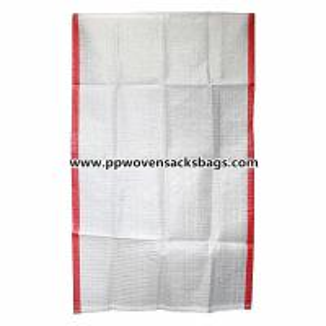 Quality 100% Virgin PP Sugar Packing Bags / 50kg Woven Polypropylene Sacks for Rice or Salt for sale