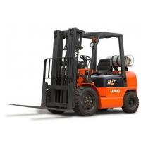 Quality 1.8 T JAC Brand LPG Forklift / Used Forklift Trucks With 3000 Mast Lifting Height for sale