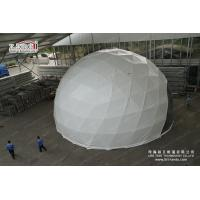 60m Outdoor Geodesic Dome Tents With Transparent PVC For F1 Event for sale