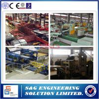 Quality 1 - 25mm Thickness Hr Slitting Machine , 20T Stainless Steel Sheet Cutting Machine for sale