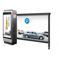 Quality Advertising Auto Barrier Gate System Parking Management With Powder Coating for sale