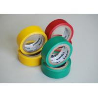 Quality Achem Rubber Adhesive Insulation Tape Matte Film PVC Black / Red / Green for sale