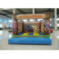 Quality Customized Mini Kids Inflatable Bounce House Quadruple Stitching 3 X 4 X 3m for sale