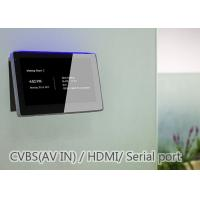 Quality Multi Function Conference Room Booking Display Monitor Tablet With LED Light for sale