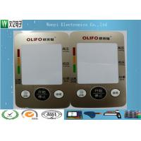 Quality Custom Control Panel Overlay FPC Membrane Switch Touch Sense Panel Metallic Color for sale