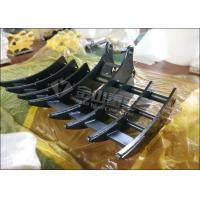 Quality Sand Clearing Excavator Root Rake Material Handling For Hyundai R210 R220 for sale