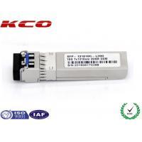 China LC Duplex Port SFP Fiber Optic Transceiver Single Mode Compatible CISCO for sale