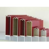 Buy Commercial Office Curtain Wall Anodized Aluminium Profile Preciously Cutting at wholesale prices