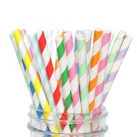 China Colorful Attractive Paper Party Straws To Decorate Birthday Parties Baby Showers on sale