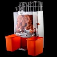 China Automatic Citrus Juicer Stainless Steel Panel Orange Juice Extractor on sale