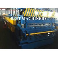 Buy Color Coat Metal Glazied Roof Tile Roll Forming Machine 4m/min - 6m/min Speed at wholesale prices