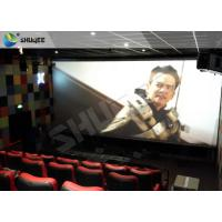 Quality Professional 4DM Cinema Equipemnt With Electric Motion Chair , 4 Seats / Set for sale
