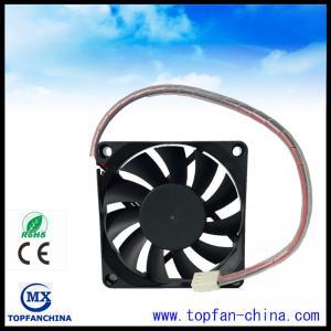 China Smart Fan Control For Car Cooling Sytem 12V 4500 RPM Cooling Fan 7015 Platics Frame and Impeller on sale