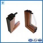 Quality China famous brand aluminum profile / 6063-T5 aluminum window door profiles for sale
