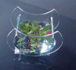 Quality Crescent Shape Custom Acrylic Fish Tank   for sale