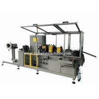 Quality Fully Automatic Aluminum Radiator Fin Machine 100 M/min  25mm Wide for sale