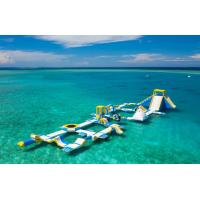 Quality Maldives 125 People Inflatable Floating Water Park Made By Bouncia for sale