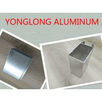 Quality Mechanical Polishing Aluminum Window Profiles Shining Surface Silver White for sale