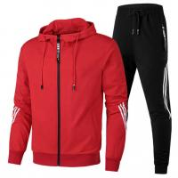 Quality Custom Your Own Brand Mens Sports Tracksuits Lightweight Cotton Hoodie Printed for sale