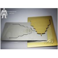 Quality Gold Inspirational  Custom Metal Bookmarks For Women , Personalized  Plain Metal Bookmarks for sale