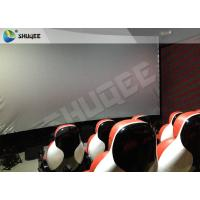 Buy Medium Interactive 9D Cinema System Electric 9D Simulator With 30 Motion 9D Chairs at wholesale prices
