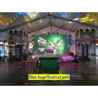 China Aluminum Structure Flame Retardant Outdoor Event Tents / Clear Span Party Tent for Tuborg Festival on sale