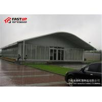 Heavy Duty Transparent Marquee Tent , 800 People Custom Trade Show Tents for sale