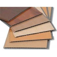 Quality Wooden Style Laminating UPVC Wall Panels , PVC bathroom wall cladding Decoration for sale