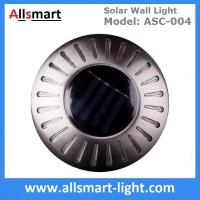 Quality UFO Round Solar Wall Lights RGB Solar Inderground Lamp Solar Pathway Lawn Light Solar Dock Deck Light Solar Stair Light for sale