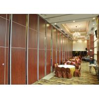 Quality Folding Sliding Partition Walls Board With Top Hung System for sale