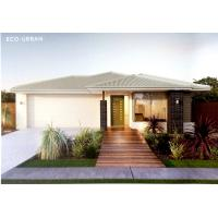 Prefabricated Light Steel Structure Bungalow With Aluminum Alloy / PVC Window