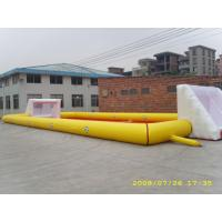 China Adult Large Inflatable Soccer Field / Fun Football Field Artificial Grass on sale