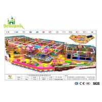 Quality Anti - Crack Infant Indoor Playground , Soft Play Indoor Playground Family Fun For Kids for sale