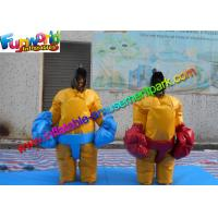 Quality Adult Sumo Wresting Inflatable Sports Games 1.8m H Inflatable Sumo Suits for sale