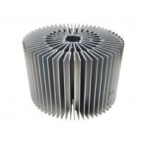 China Sunflower -Heat Sink /  Aluminum Heatsink Extrusion Profiles For Led Light on sale