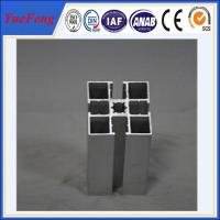 Quality Hot! Supply t slot aluminum extrusion for industry powder coating aluminum profiles for sale