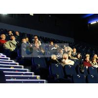 Quality Large-scale 4D Movie Theater Computer Controlled With Mobile Seats for sale