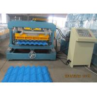 Quality Glazed Metal Tile Forming Speed 4m/min  Roof Tile Roll Forming Machine 380V/3Phase/50HZ for sale