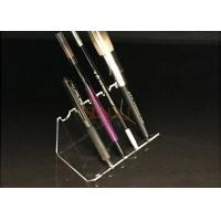 Buy 4mm Acrylic Clear Pen Display Stand Portable Pen Holder Hot Bend Cutting at wholesale prices