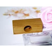 China Superior Quality Recycled Wooden Perfume Bottle Cap for Glass Bottle on sale
