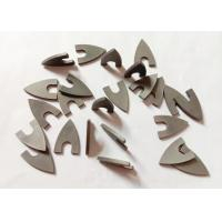 China High Hardness YG8 Triangle Tungsten Carbide Tips For Ceramic Drill Bit for sale