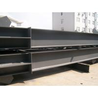 Customized Carbon Black Steel H Beam Hot Rolled for Bridge Construction for sale