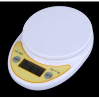 Quality Round Platform Kitchen Weight Scale 5kg With Over Load Indication for sale
