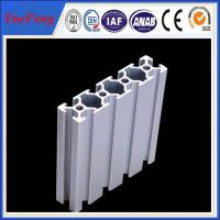 Quality 2080 Extrusion T - Slotted Aluminum Profile Framing for Industrial Assembly for sale