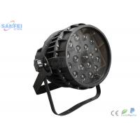 Quality LED 18PCS RGBW 4in1 Waterproof Zoom PAR Light for bar  5in1 / 6in1 color / IP65 for sale