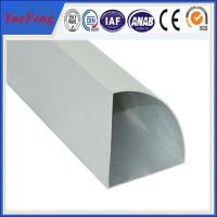 Quality extruded aluminum tubing/ high quality aluminum extruders for sale
