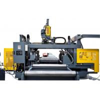 Quality High Speed CNC H Beam Drilling Machine Line Nine Drill Heads On Top / Left / Right for sale